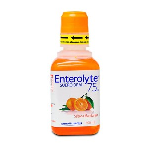 Enterolyte Empaque Mandarina